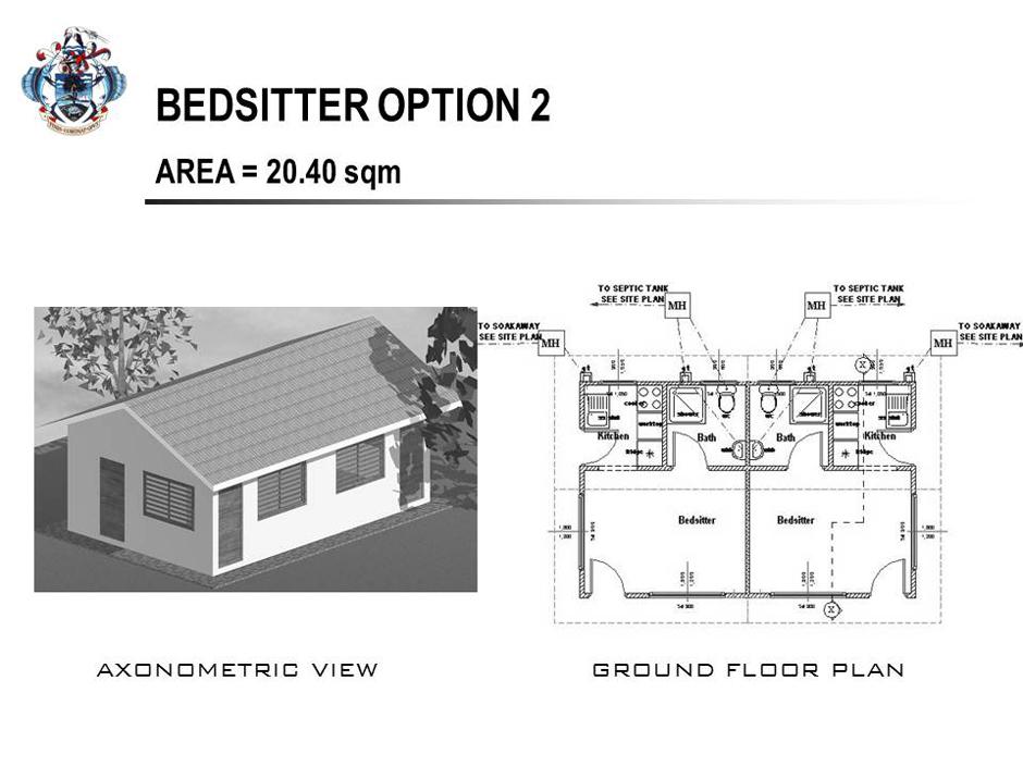 bedsitter plans