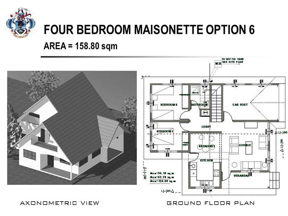 four bedroom maisonette option 6 ForFour Bedroom Maisonette Plans