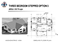 THREE BEDROOM STEPPED OPTION 3