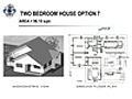 TWO BEDROOM HOUSE OPTION 7